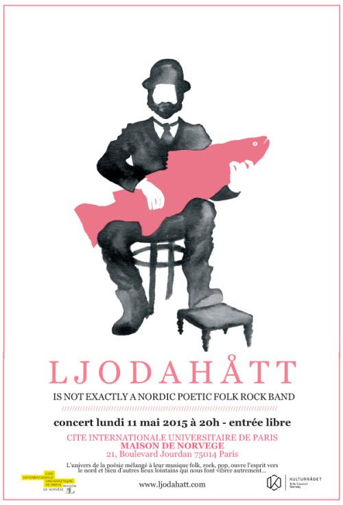 Concert Ljodahått à la Cité Internationale Universitaire de Paris - 11 mai 2015 à 20h - Entrée libre
